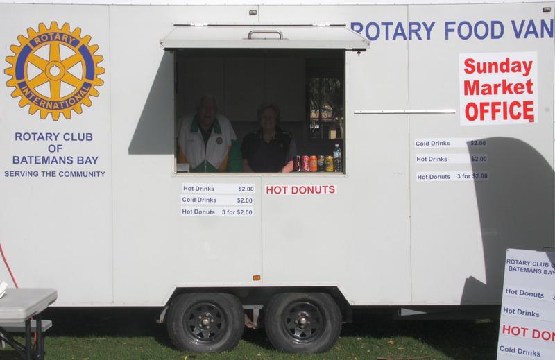 Rotary food van