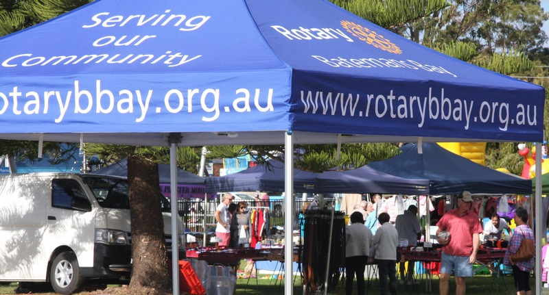 rotary tent